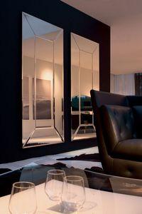 COSTANTIA, Espejo adaptable, para las entradas y las salas de estar