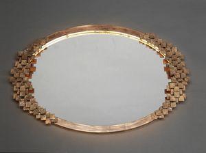 DAMA HF2019MI, Espejo ovalado de hierro