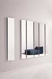 Geometrika rectangular, Espejos rectangulares, accessorised con iluminación LED perimetral