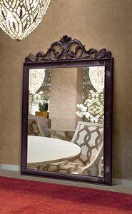 Gold Art. 4625, Espejo grande con marco tallado