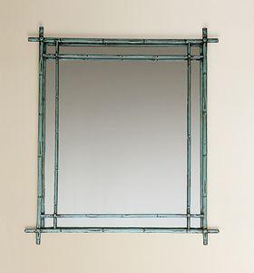 HF2011MI, Espejo cuadrado con marco