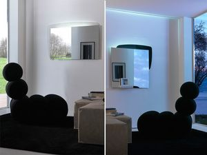 k198 visual bw, Espejo con panel trasero con iluminaci�n LED
