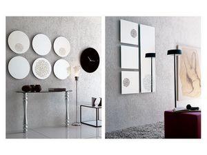 k201 frill, Espejo sin marco, montaje en la pared