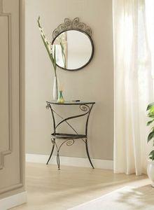 Klimt mirror, Espejos con marco de hierro elaborada