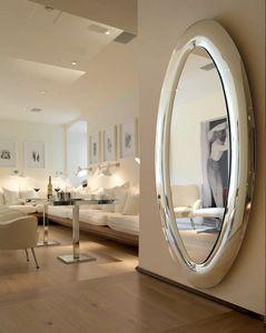 Mind 389, Espejo ovalado con marco redondeado