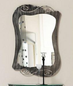 Mir� mirror, Espejo con marco de hierro curvado