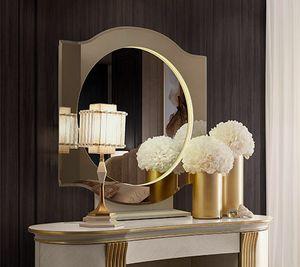 Oliver Art. OL80/S, Espejo redondo para dormitorio