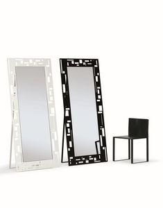 Otto, Espejos rectangulares, con un diseño moderno, ideal para tiendas y casa