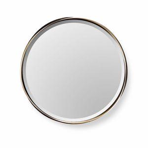 Rodin espejo, Espejo redondo con marco de acero