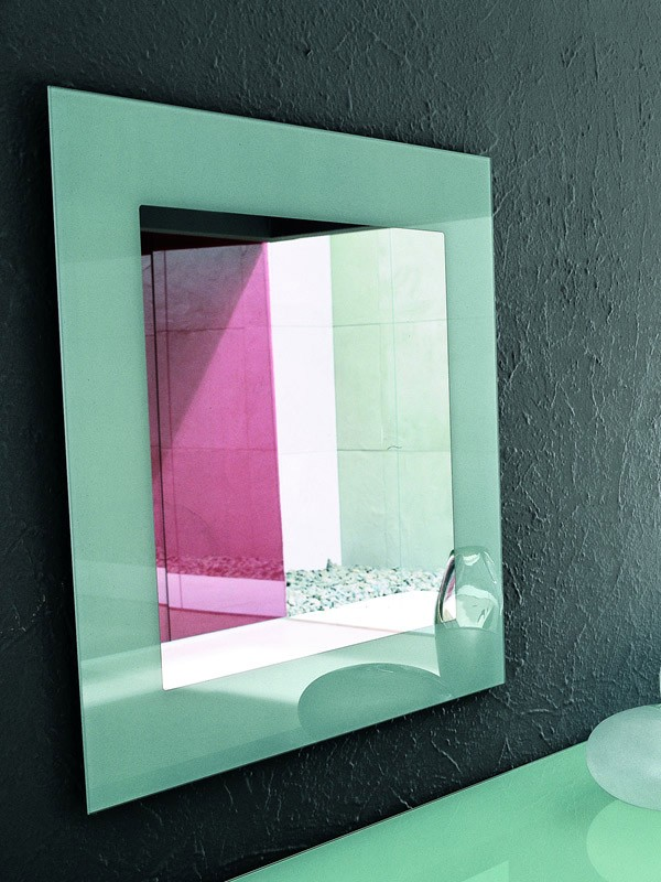 TOSHIMA, Espejo de pared, diferentes acabados para serigrafía