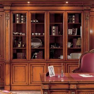 Estanteria 1910, Librería de estilo clásico para oficina