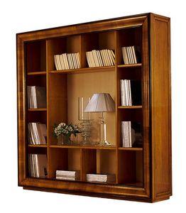 Herge CH.0061, Librería clásica de salida de nogal