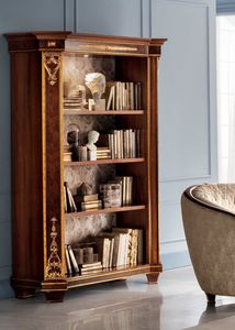 Modigliani estantería 2 puertas, Librería inspirada en el estilo imperio.