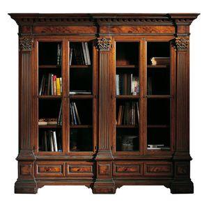 Sillano ME.0124, Biblioteca clásica, con capiteles corintios