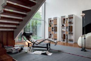 ABACO, Librería de madera, modular, para sala de estar