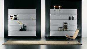 ALL comp.02, Composición de los estantes para el hogar moderno, de aluminio
