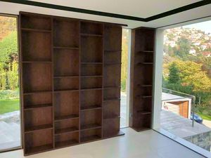 Art. A04, Librería de madera moderna