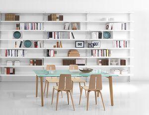 Big, Bibliotecas contemporáneas de aluminio, para hogares y oficinas