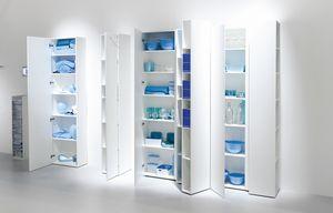 Blio, Biblioteca modular con módulos laterales plegables