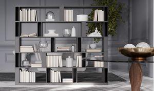 BRERA comp.02, Bifaciales biblioteca de sala de estar, alto diseño