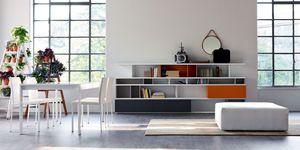 Citylife 09, Estantería de color adecuado para la vida moderna sala