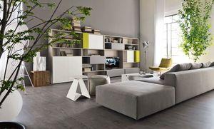 Citylife 16, Biblioteca moderna para salas de estar, personalizable