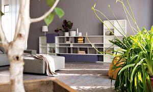 Citylife 31, Biblioteca modular adecuado para salas de estar modernas
