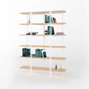 Dalton, Biblioteca modular con estructura de hierro