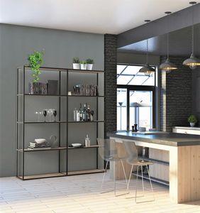 dl400 modus, Librerías modulares en aluminio