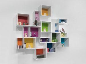 Easy box, Armario colgante para dormitorio infantil.