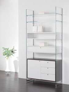 Glassystem comp.15, Mueble modular de pared