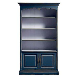 Lorena FA.0100, Librería clásica con estantes y puertas