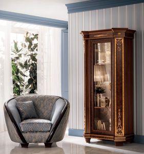 Modigliani estantería 1 puerta, Estantería clásica para salón