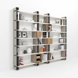 Modulo, Librería de pared modular