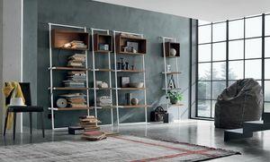Movida, Librería con líneas oblicuas dinámicas