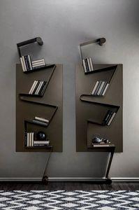 NOTA, Librería en metal lacado.