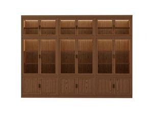 Novecento FS3314319, Librería modular de fresno