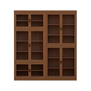 Novecento FS3314322, Librería modular de madera