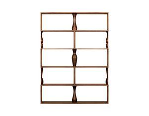 Perbacco 6204/F, Librería modular de fresno