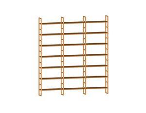 Scala FS3410174, Librería modular de madera