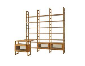 Scala FS3410176, Librería modular de madera