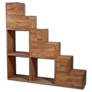 Scala Yen, Estantería para ahorrar espacio que se puede utilizar como escalera.
