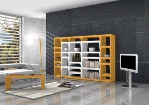 Shoeila, Biblioteca de diseño lacada en laminado