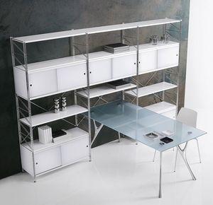 Socrate cierre, Estantería modular para el hogar y la oficina