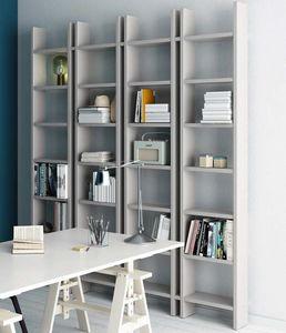 Step – Mood 5, Librería con un diseño esencial