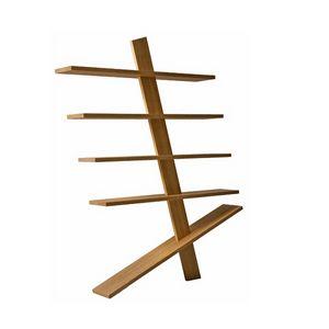 Supergiù 6299/F, Librería independiente de madera maciza