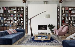 Wallis W004G, Pared modular equipada para sala de estar