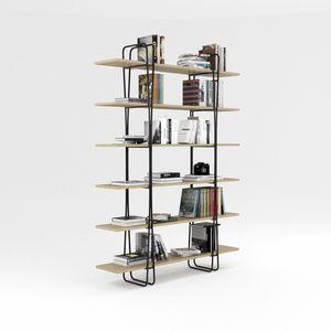 Ypsilon, Librería con estructura de hierro