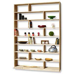 Zig Zag, Librería de madera a medida