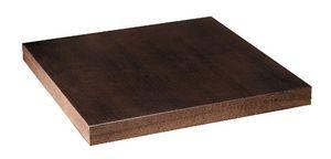 Tapa de la mesa en chapa de haya nogal oscuro, Top en madera de haya nogal oscuro